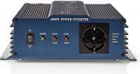Nedis Vekselretter med ren sinusbølge | 24 V jævnstrøm - 230 V vekselstrøm | 1000 W | 1 x Schuko-udg