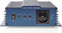 Nedis Vekselretter med ren sinusbølge | 12 V jævnstrøm - 230 V vekselstrøm | 600 W | 1 x Schuko-udga