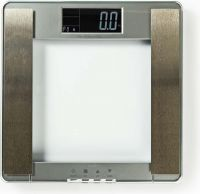 Nedis Body Mass Index (BMI) Scales | 10 User Profiles | Tempered Glass, PESC120DCT