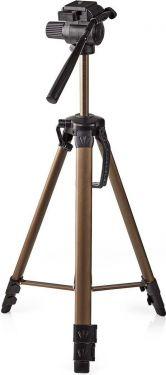 Nedis Trefod | Panorering og Vipning | Maks. 3,5 kg | 161 cm | Sort/sølv, TPOD2300BZ