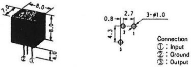 CFU455E2 Keramisk filter 3 elmement