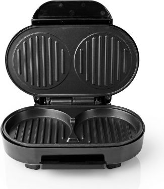 Nedis Hamburger maker | 1000 Watt | Black, KAHM100BK