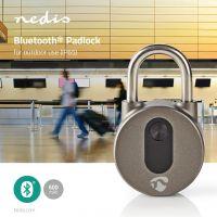 Nedis Bluetooth-hængelås | Nøglefri betjening, LOCKBTP10GY