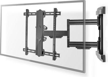 Nedis TV-veggmontering med full bevegelighet   37-80 tommer   Maks 50 kg   3 svingpunkter, TVWM6550B