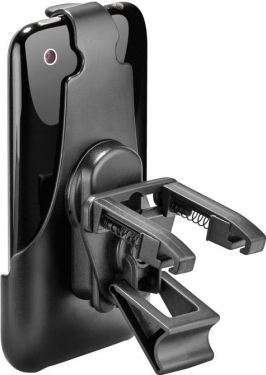 Bilholder til iPhone 3/3Gs Vent. clip, drejefunktion