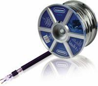 Bandridge Microphone Cable on Reel 2x 0.35 mm² 100 m Black, LC4240