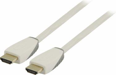 Bandridge High Speed Hdmi Kabel Med Ethernet HDMI-Stik - HDMI-Stik 1.00 m Hvid, BBM34000W10