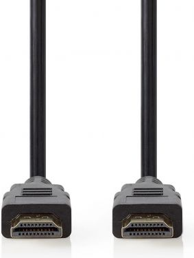 Nedis Premium High Speed HDMI™-kabel med Ethernet | HDMI™-stik - HDMI™-stik | 5,00 m | Sort, CVGB340