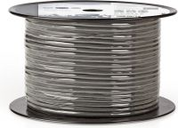 Nedis DMX-kabel 110 ohm | 4x 0.12 mm² | 100 m | Rulle | Grå, COTR15020GY100