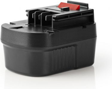 Nedis Batteri Til Elværktøj | Ni-MH | 12 V | 2 Ah | 24 Wh | Reserve til Black & Decker, P2AHBD12V02