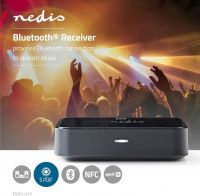 Nedis Wireless Audio Receiver | Bluetooth® | Toslink output | 3.5 mm output | Black, BTRC110BK