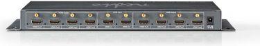 Nedis HDMI™ Splitter | 2-to-8-port - 2x HDMI™ input | 8x HDMI™ ouput, VSPL3428AT