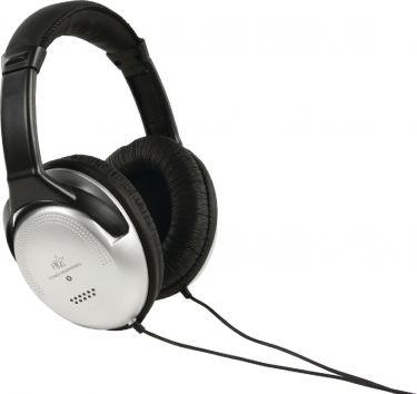 HQ Over-Ear Headphones 3.5 mm 6.0 m Silver/Black, HQ-HP137HF6