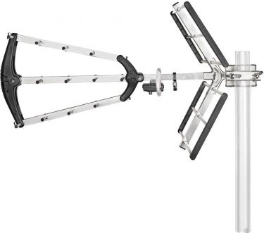 Nedis Outdoor TV Antenna | Max. 13 dB Gain | UHF: 470 - 698 MHz, ANORU05L8ME