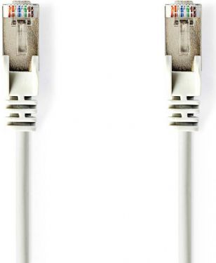Nedis CAT5e SF/UTP Network Cable | RJ45 (8P8C) Male - RJ45 (8P8C) Male | 1.5 m | White, CCGB85121WT1