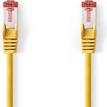 Nedis Kat. 6 S/FTP-netværkskabel | RJ45-hanstik | RJ45-hanstik | 0,25 m | Gul, CCGP85221YE025