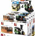 Legetøj og Gadgets, Sluban Byggeklodser Builder Transportation, 101380598