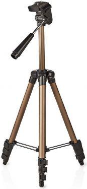 Nedis Trefod | Panorering og Vipning | Maks. 1,5 kg | 105 cm | Sort/sølv, TPOD2000BZ