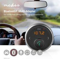 Nedis Bluetooth®-multiadapter | Håndfri opkald | FM | Op til 5,5 timers spilletid | Stemmestyring, B