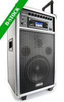 "Transportabelt lydanlæg, ST100 MK2 Portable Sound System 8"" BT/CD/MP3/UHF ""B-STOCK"""
