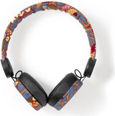 Nedis Kablede hovedtelefoner | 1,2 m rundt kabel | On-ear | Ugle | Sort, HPWD4101BK