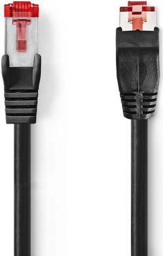 Nedis Kat. 6 SF/UTP-netværkskabel | RJ45-hanstik | RJ45-hanstik | 5,0 m | Sort, CCGP85227BK50