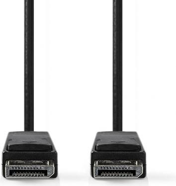 Nedis DisplayPort 1.4 Cable   DisplayPort Male - DisplayPort Male   2.00 m   Black, CCGP37014BK20