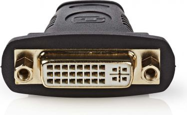 Valueline High Speed HDMI with Ethernet Adapter HDMI Female - DVI-D 24+1-Pin Female Black, VGVP34911