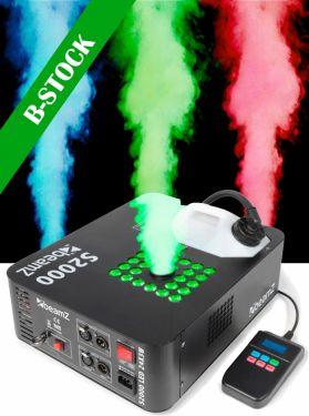 """S2000 Smoke Machine DMX LED 24x 3W """"B-STOCK"""""""