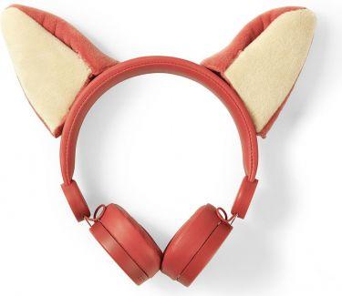 Nedis Kablede hovedtelefoner | 1,2 m rundt kabel | On-ear | Aftagelige magnetiske ører | Franky Fox