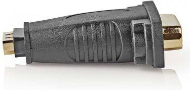 Nedis HDMI™ - DVI Adapter | HDMI Female - DVI-D 24+1-Pin Female | Black, CVGB34911BK
