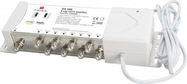 Triax Amplifier 12 dB 8 Outputs, 339388