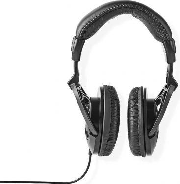 Nedis Over-ear hovedtelefoner | 2,50 m kabel | Sort, HPWD3200BK