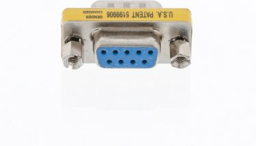 Valueline Serial Adapter D-SUB 9-Pin Male - D-SUB 9-Pin Female Metal, VLCP52812M