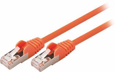 Valueline CAT5e SF/UTP Network Cable RJ45 (8P8C) Male - RJ45 (8P8C) Male 7.50 m Orange, VLCP85121O75