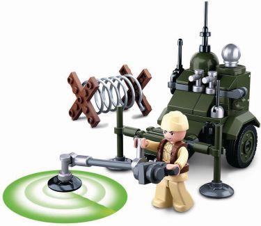 Sluban Building Blocks WWII Serie Allied Minesweeper, M38-B0678D