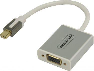 Profigold Mini DisplayPort Cable Mini DisplayPort Male - VGA Female 0.20 m White, PROM201