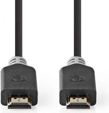 Nedis Premium High Speed HDMI™-kabel med Ethernet | HDMI™-stik - HDMI™-stik | 2,00 m | Koksgrå, CVBP