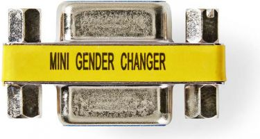 Nedis Gender Changer | VGA Female - VGA Female | 25 pieces | Metal, CCVC59810ME