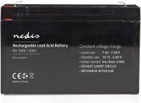 Nedis Genopladeligt blybatteri 6 V | 10000 mAh | 151 x 50 x 95 mm, BALA100006V
