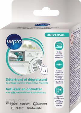 Wpro Descaler Dishwasher/Washing Machine 300 g, 484000008819