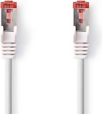 Nedis Kat. 6 S/FTP-netværkskabel | RJ45-hanstik | RJ45-hanstik | 0,15 m | Hvid, CCGP85221WT015