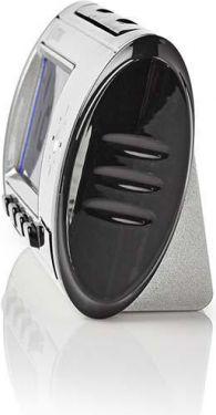Nedis Spy Camera Clock   720 x 480 Video   Remote Control   Rechargeable, SPYCCL10CSR