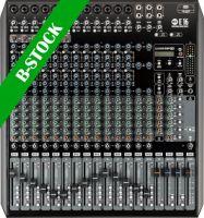 "RCF E16 mixer 12 Mic + 2 stereo input, 6 AUX, m/effekt ""B-STOCK"""
