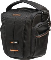 Camlink Camera Holster Bag 160-185 x 145 Black/Orange, CL-CB31
