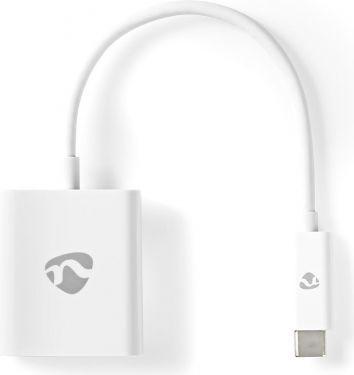 Nedis USB Type-C Adapter Cable | Type-C Male - VGA Female | 0.2 m | White, CCGB64851WT02
