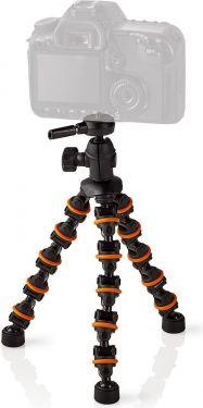 Nedis Ministativ | Maks. 1 kg | 26,0 cm | Fleksibel | Sort/orange, GPOD3200BK