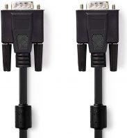 Nedis VGA Cable | VGA Male - VGA Male | 30 m | Black, CCGP59000BK300