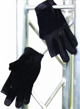Roadie handske Robust pro. sort læder, M (8)