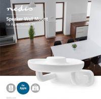 Nedis Vægbeslag til højttaler | Apple HomePod | Maks. 3 kg | Fast, SPMT6100WT